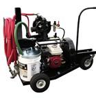 Texture spray unit